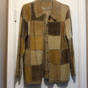 Jackets & Blazers - 🔥Just In🔥 Suede Patchwork Jacket